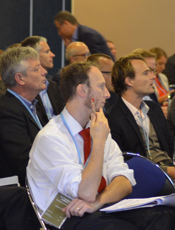 Conférence et Convention d'Affaires Biogaz Vallée® - Photo de l'édition 2015 à Lille - Crédit Frédéric Douard Bioenergie International